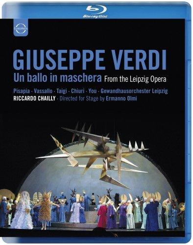 Verdi , Giuseppe - Un Ballo In Machera (From Leipzig Opera) (Pisapia, Vassallo, Taigi, You, Chailly) (Blu-ray)