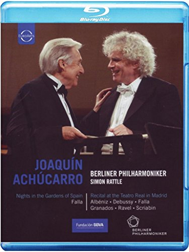 Achucarro , Joaquin & Rattle , Simon & BP - Falla: Nights In The Garden Of Spain / Recital At The Teatro Real In Madrid) (Blu-ray)