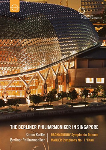 Rattle , Simon & BP - Rachmaninov/ Mahler: Berliner Philharmoniker (Live Recording Singapore) (Sir Simon Rattle, The Berliner Philharmoniker) (Euroarts: 2058908) [DVD] [2013] [NTSC]