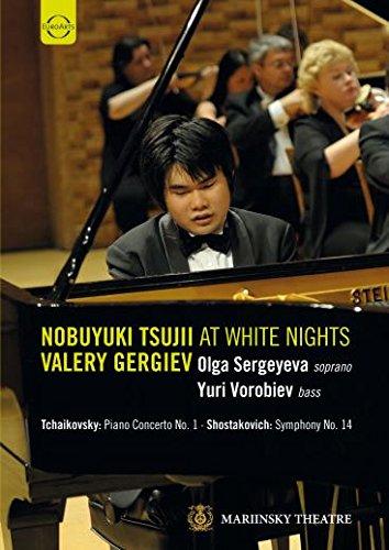 Tsujii , Nobuyuki - Noboyuki Tsujii At White Nights - Tchaikovsky: Piano Concerto No. 1 / Shostakovich: Symphony No. 14 (Gergiev, Vorobiev)