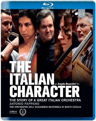 Blu-ray - The Italian Character: The Story Of A Great Italian Orchestra (The Orchestra Dell' Accademia Nazionale Di Santa Cecilia) (Pappano)
