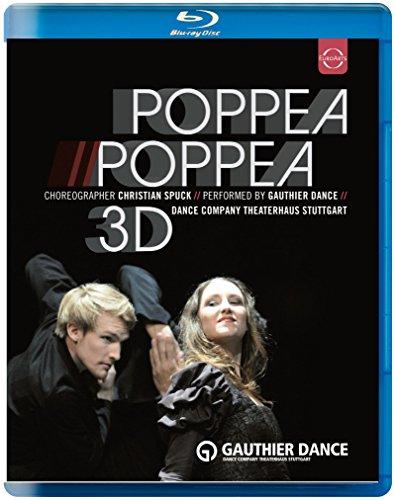 Blu-ray - Poppea // Poppea 3D (Spuck, Gauthier Dance)