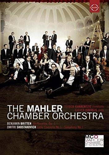 Currentzis , Teodor & Mahler Chamber Orchestra , The - Britten: Sinfonietta, Op. 1 / Shostakovich: Cello Concerto No. 1 (With Steven Isserlis) ; Symphony No. 1
