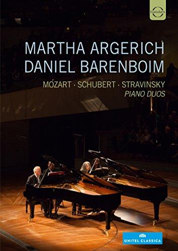 Argerich , Martha & Barenboim , Daniel - Mozart / Schubert / Stravinsky - Piano Duos