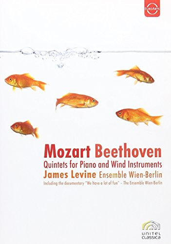 Mozart / Beethoven - Mozart / Beethoven: Quintets For Piano And Wind Instruments (Levine)