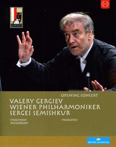 Gergiev , Valery & WP & Semishkur , Sergei - Salzburg Festival 2012: Eröffnungskonzert (Valery Gergiev) [Blu-ray]