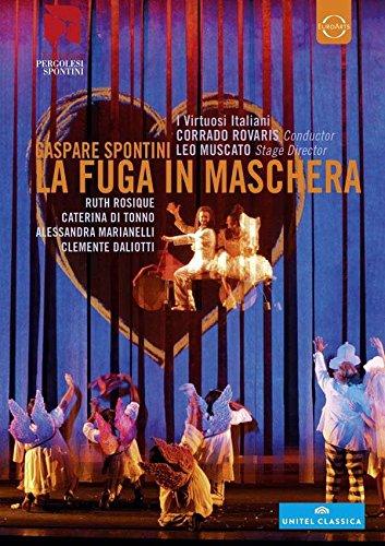 Spontini , Gaspare - La Fuga In Maschera (Rovaris, Muscato, Rosique, Di Tonno, Marianelli, Daliotti)