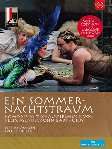 DVD - Shakespeare / Mendelssohn: Ein Sommernachtstraum (Salzburger Festspiele 2013)