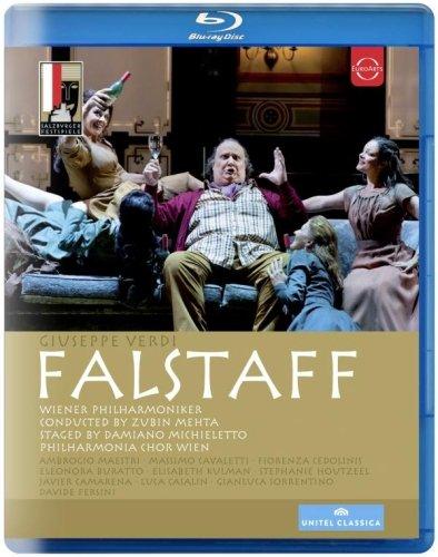 Verdi , Giuseppe - Falstaff (Salzburger Festspiele 2013) (Mehta, Maestri, Cavaletti, Cedolinis, Buratto, Kulman) (Blu-ray)