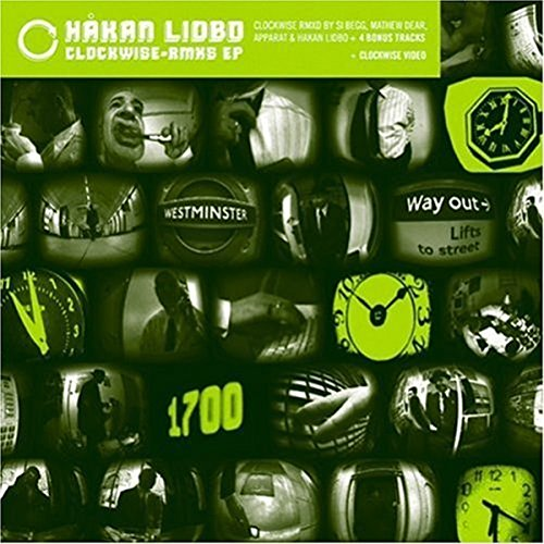 Lidbo , Hakan - Clockwise-Rmxs (EP)