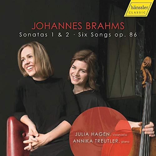 Brahms , Johannes - Sonatas 1 & 2 / Six Songs, Op. 86 (Hagen, Treutler)