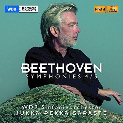 Beethoven , Ludwig van - Symphonies 4 / 5 (Saraste)