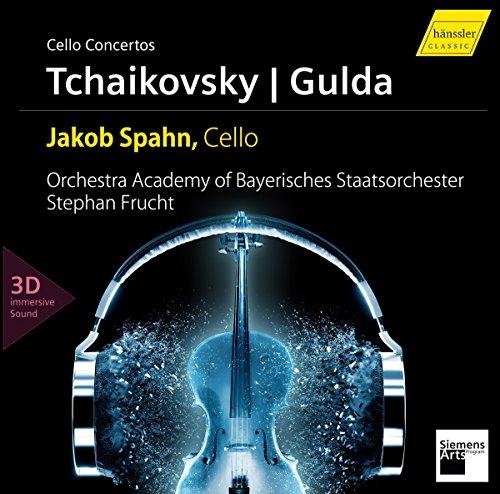Spahn , Jakob - Cello Concertos By Tchaikovsky & Gulda (CD   Pure Blu-ray Audio)