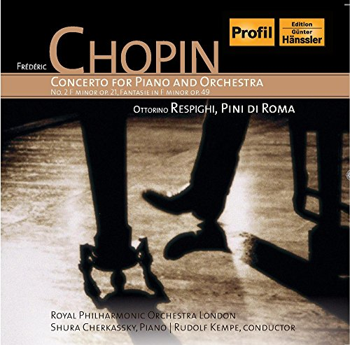 Chopin , Frederic - Concerto For Piano And Orchestra No. 2 F Minor, Op. 21 / Fantasie In F, Op. 49 (Cherkassky, Kempe, RPOL)