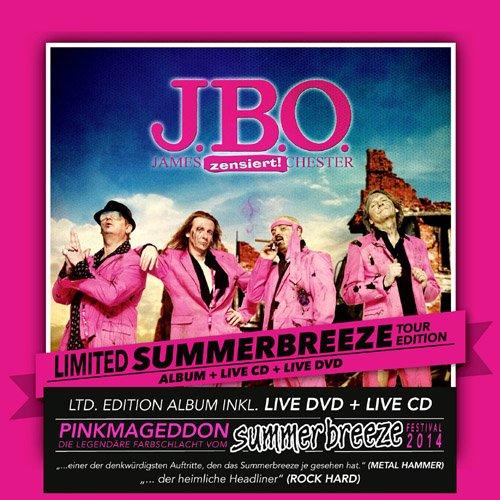 J.B.O. - Nur die Besten werden alt (Limited Summerbreeze Tour Edition)