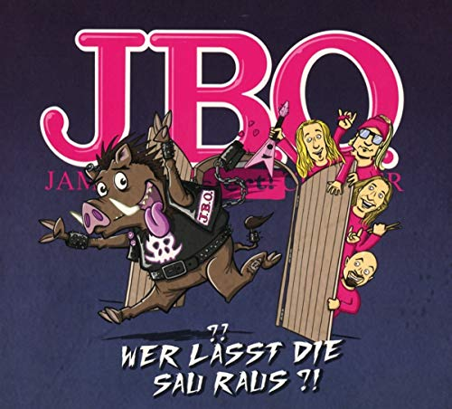 J.B.O. - Wer Lässt die Sau Raus?! (CD-Digipak)