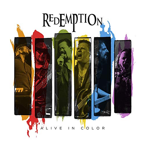 Redemption - Alive In Color (2CD 1Blu-ray SET) (DigiPak Edition)