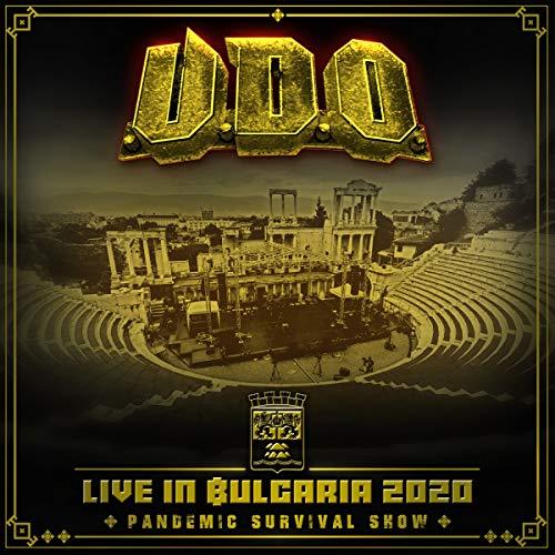 U.D.O. - Live In Bulgaria 2020 - Oandemic Survival Show (2CD 1DVD)