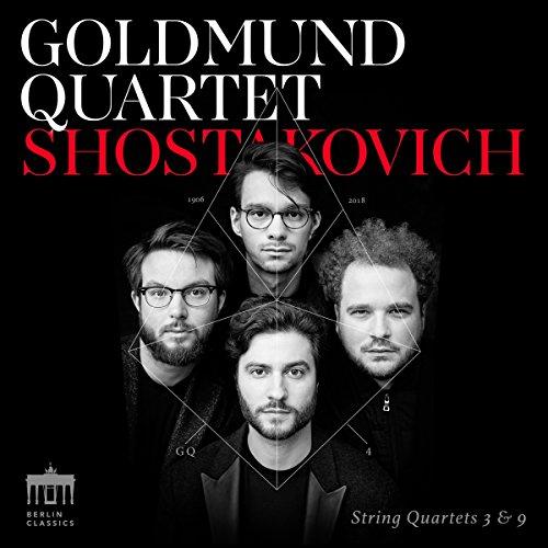 Shostakovich , Dmitri - String Quartets 3 & 9 (Goldmind Quartet)