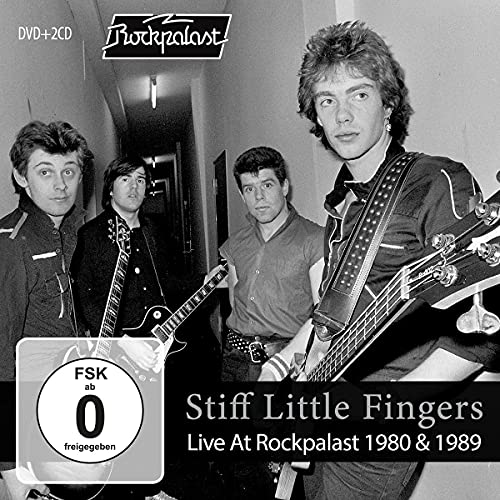 Stiff Little Fingers - Live at Rockpalast 1980 & 1989 (2 CDs + 1 DVD)