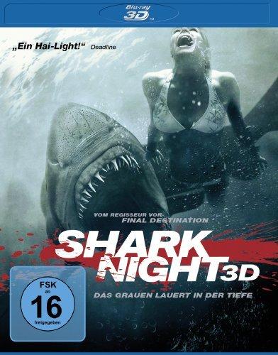 Blu-ray - SAhark Night 3D - Das Grauen lauert in der Tiefe