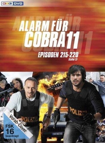 DVD - Alarm für Cobra 11 - Staffel 27 (Episoden 215-220)