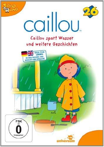 DVD - Caillou 26 - Caillou spart Wasser und weitere Geschichten