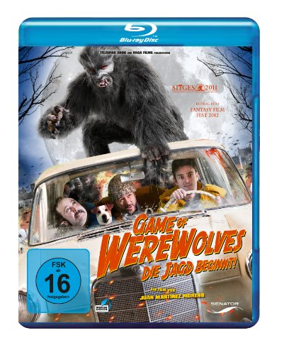 Blu-ray - Game Of Werewolves - Die Jagd beginnt!