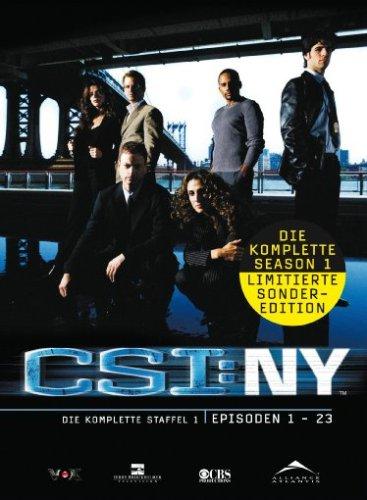 DVD - CSI: NY - Staffel 1
