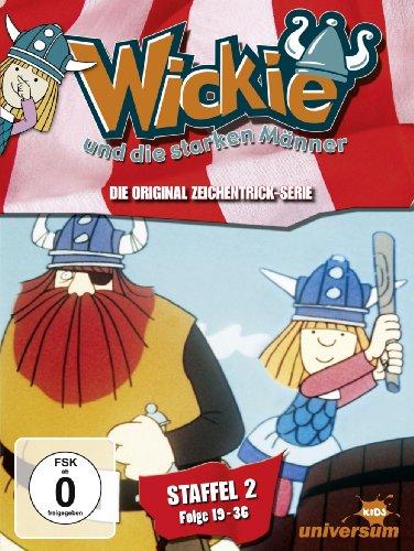 DVD - Wickie und die starken Männer - Staffel 2 (Folge 19-36)