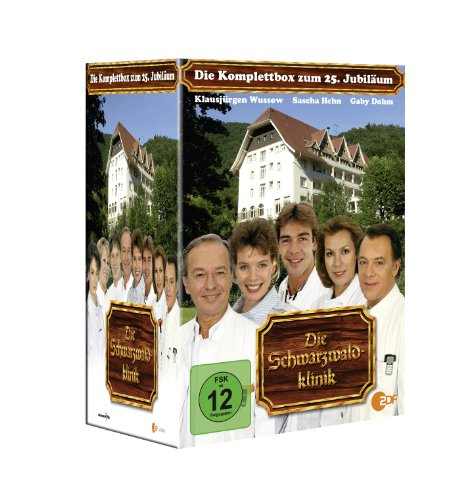 - Die Schwarzwaldklinik - Die Komplettbox zum 25. Jubiläum [24 DVDs]