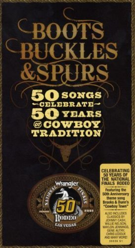 Sampler - Boots, Buckles & Spurs - 50 Songs Celebrate 50 Years Of Cowboy Tradition (3-CD Longbook)