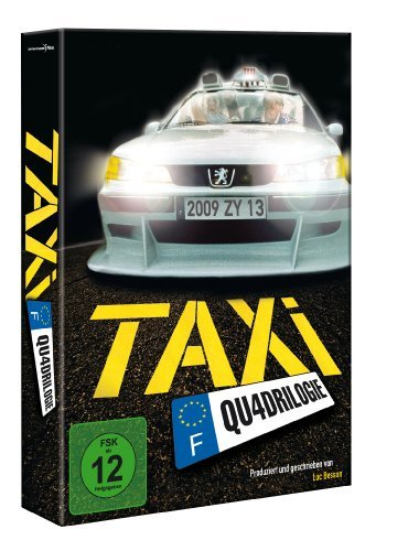 DVD - Taxi Qu4drilogie (Special Edition)