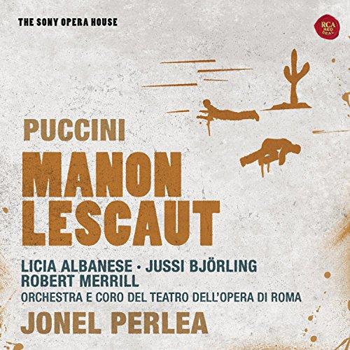 Puccini , Giacomo - Manon Lescaut (Perlea, Albanese, Björling, Merrill) (The Sony Opera House)