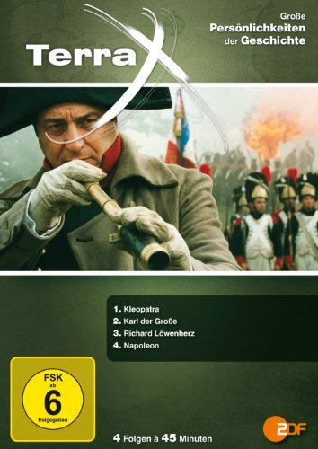 DVD - Terra X - Große Persönlichkeiten der Geschichte (Kleopetra / Karl der Große / Richard Löwenherz / Napoleon)