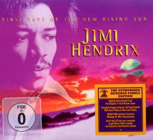 Hendrix , Jimi - First Rays of the New Rising Sun (Digitally Remastered   DVD)