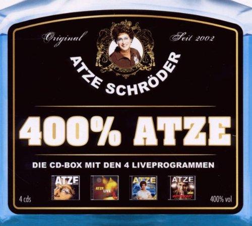 Atze Schröder - 400% Atze-die Atze CD-Box