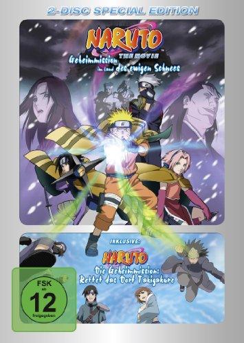 DVD - Naruto - The Movie: Geheimmission im Land des ewigen Schnees / Natuto - Die Geheimmission: Rettet das Dorf Takigakure