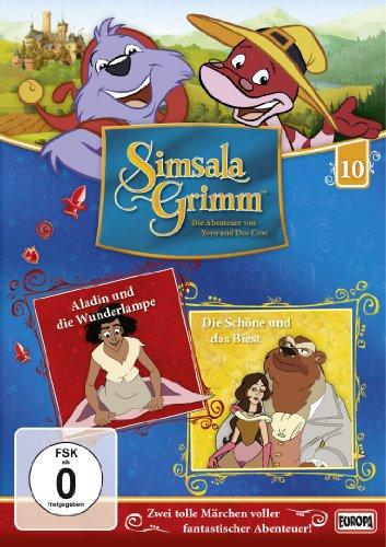 DVD - Simsala Grim 10 - Alladin und die Wunderlampe / Die Schöne und das Biest