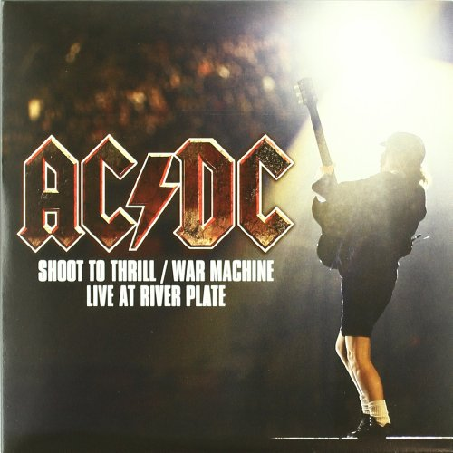 AC DC - Shoot to Thrill / War Machine - Live at River Plate (Maxi) (Vinyl)