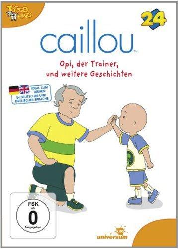 DVD - Caillou 24 - Opi, der Trainer und weitere Geschichten