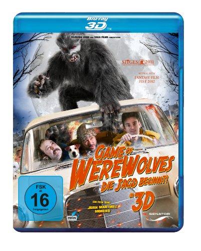 Blu-ray - Game of Werewolves - Die Jagd beginnt! 3D
