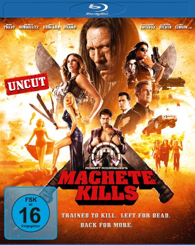 Blu-ray - Machete Kills (Uncut Edition)