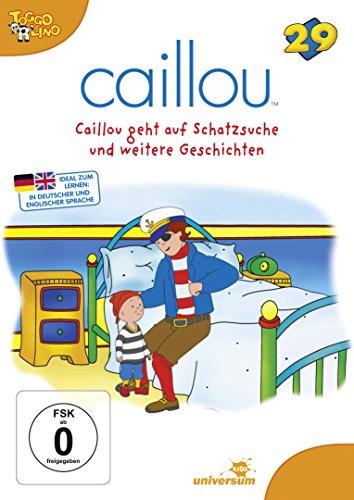 DVD - Caillou 29 - Caillou geht auf Schatzsuche und weitere Geschichten