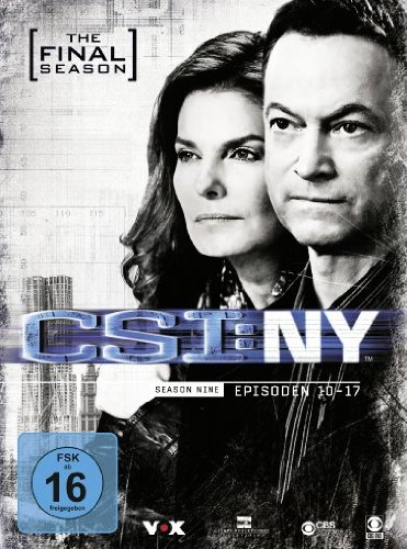 - CSI: NY - Season 9.2: The Final Season [3 DVDs]