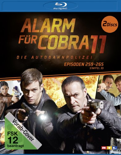 Blu-ray - Alarm für Cobra 11 - Staffel 33 (Episoden 259 - 265)