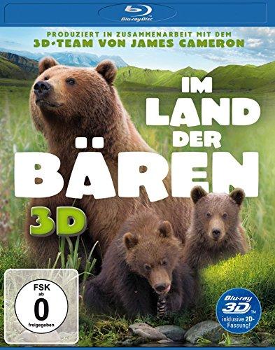 Blu-ray - Im Land der Bären 3D (  2D-Fassung)