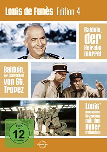 DVD - Louis de Funès Edition 4 [3 DVDs]