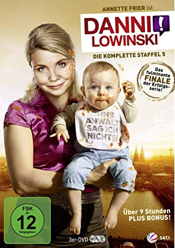 DVD - Danni Lowinski - Die komplette Staffel 5 [3 DVDs]