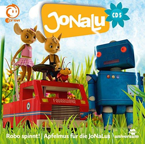 JoNaLu - 5 - Robo spinnt! / Apfelmus für die JoNaLus